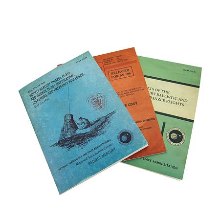 NASA SOFTCOVER JOURNAL 3PC SET (C: 1-1-1)