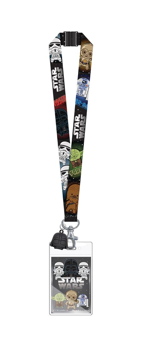 STAR WARS 3D FOAM STYLE LANYARD W/ DARTH VADER DANGLE (C: 1-