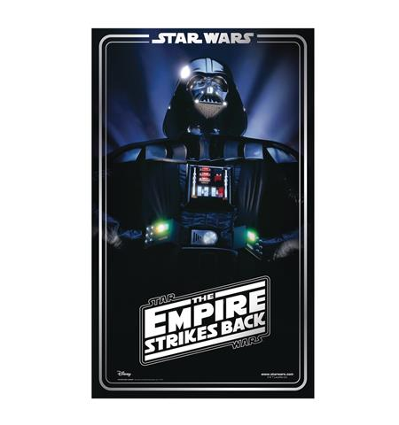 STAR WARS DARTH VADER EMPIRE STRIKES BACK LIFE-SIZE STAND UP