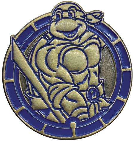 TMNT LEONARDO ANTIQUE GOLD NUMBERED PIN (C: 1-1-2)