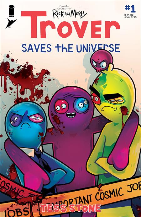 TROVER SAVES THE UNIVERSE #1 (OF 5) CVR A STONE (MR)