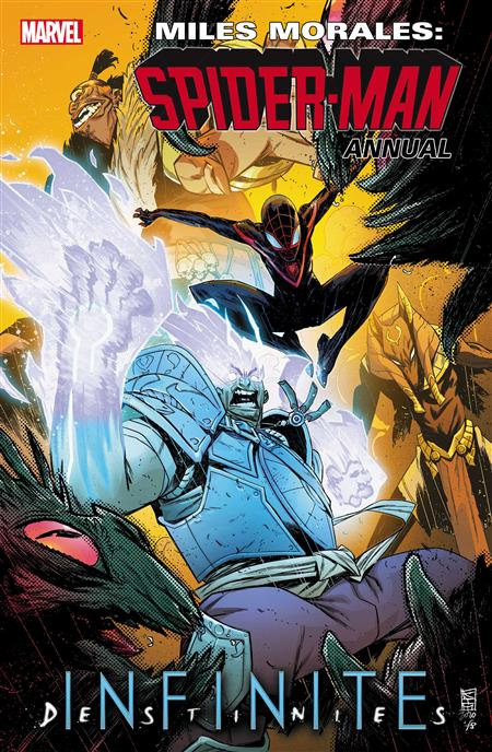 MILES MORALES SPIDER-MAN ANNUAL #1 INFD