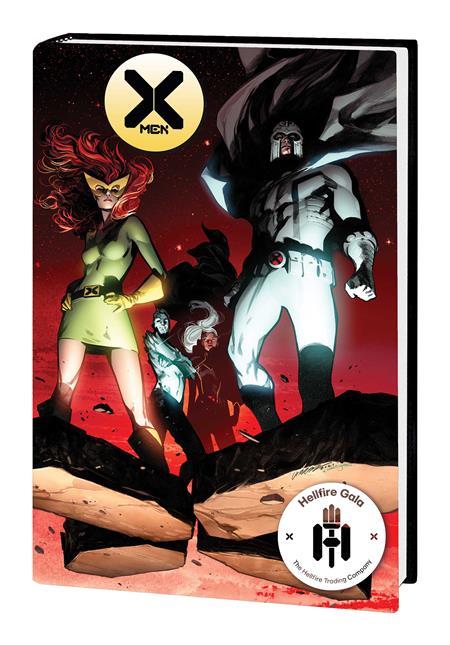 X-MEN HELLFIRE GALA RED CARPET COLLECTION HC LARRAZ CVR