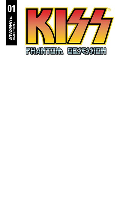 KISS PHANTOM OBSESSION #1 CVR F BLANK AUTHENTIX