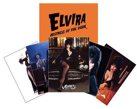 ELVIRA MINI TRADING CARD SET WITH ENVELOPE (C: 0-1-2)