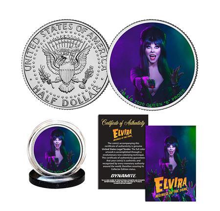 ELVIRA COLL HALF DOLLAR COIN (C: 0-1-2)