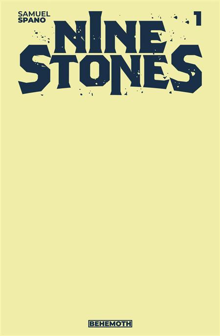 NINE STONES #1 CVR E SKETCH COVER (MR)