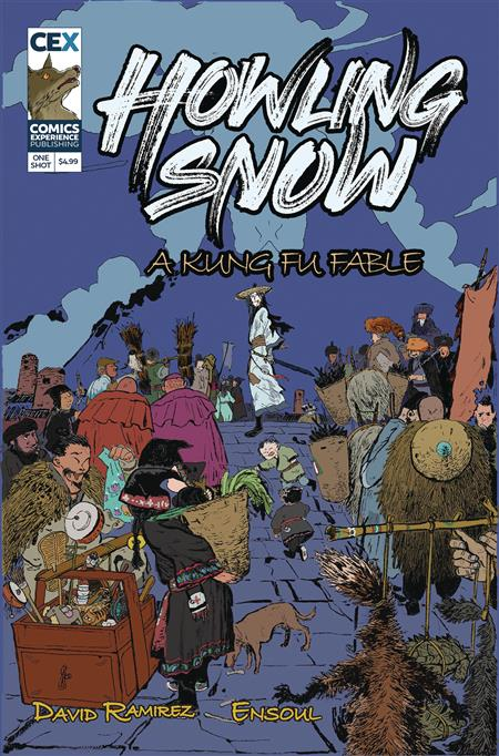 HOWLING SNOW KUNG FU FABLE CVR A ENSOUL