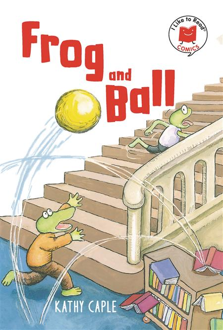 I LIKE TO READ COMICS SC GN FROG AND BALL (C: 0-1-0)