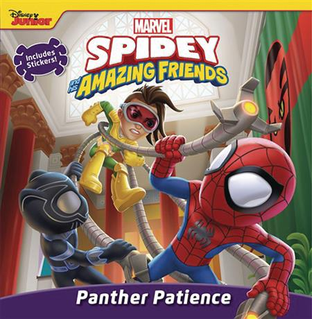 SPIDEY & HIS AMAZING FRIENDS PANTHER PATIENCE BOARD BOOK (C: