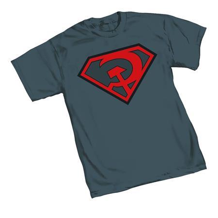 SUPERMAN RED SON SYMBOL T/S LG (C: 1-1-2)