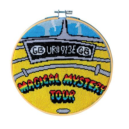 BEATLES CROSS-STITCH HOOPS #3 MAGICAL MYSTERY TOUR BUS (C: 1