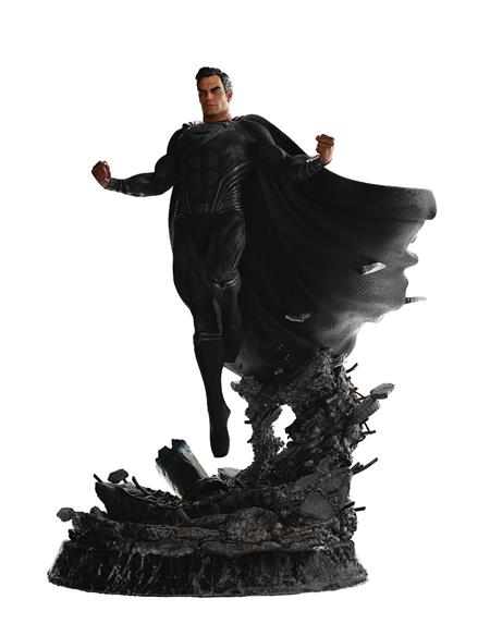 JL SNYDER CUT SUPERMAN BLACK SUIT LTD ED 1/6 STATUE (Net) (C