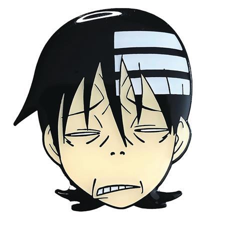 SOUL EATER DEATH THE KIDS AWKWARD FACE PIN (C: 1-1-2)