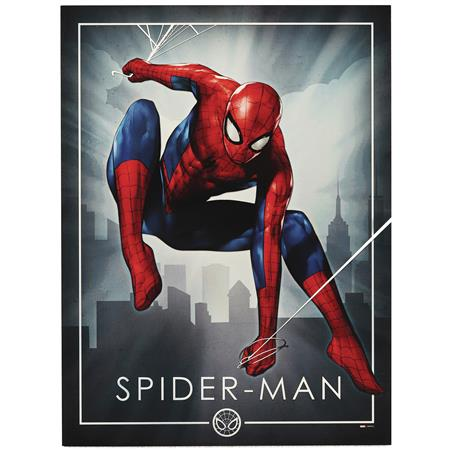 SPIDER-MAN POSING WOOD WALL ART (C: 1-1-2)