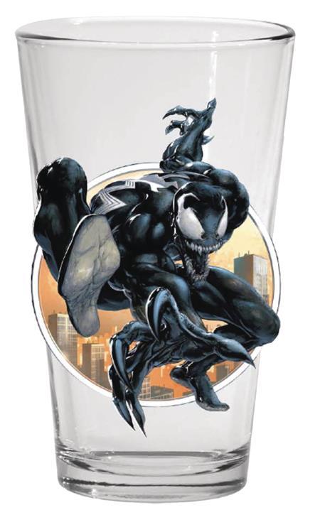 TOON TUMBLERS MARVEL SM 300 VENOM PINT GLASS (C: 1-1-2)