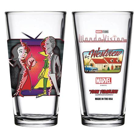 TOON TUMBLERS WANDAVISION WESTVIEW PINT GLASS (C: 1-1-1)