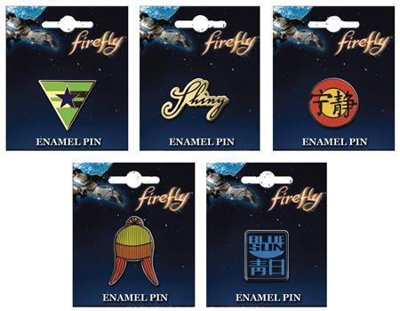 FIREFLY 30PC ENAMEL PIN ASST (C: 1-1-2)