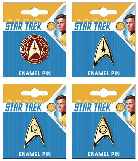 STAR TREK 24PC ENAMEL PIN ASST (C: 1-1-2)