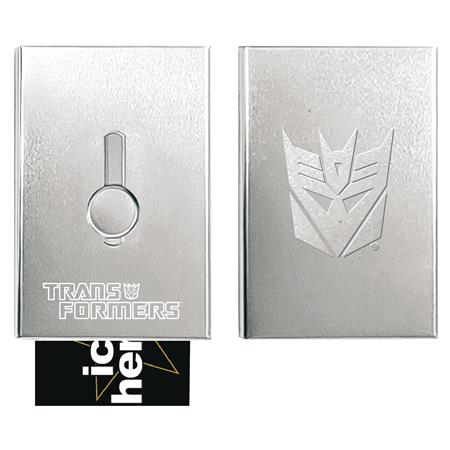 TRANSFORMERS DECEPTICON FACTION BUSINESS CARD HOLDER (C: 1-1