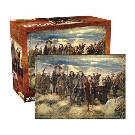 AQUARIUS THE HOBBIT 3000PC PUZZLE (C: 1-1-2)