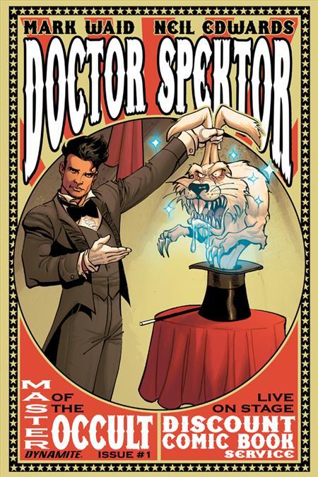 DOCTOR SPEKTOR #1 DCBS EXC VAR *Special Discount*