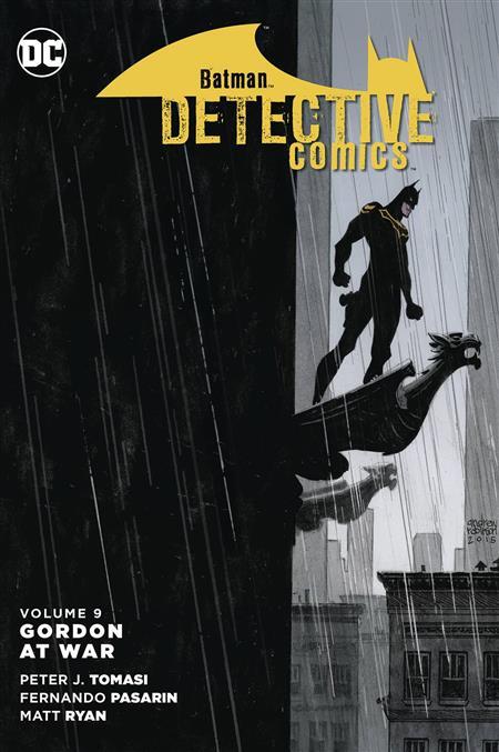 BATMAN DETECTIVE COMICS TP VOL 09 GORDON AT WAR *Special Discount*