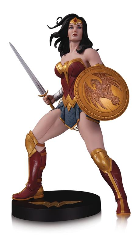 DC DESIGNER SER WONDER WOMAN BY FRANK CHO STATUE