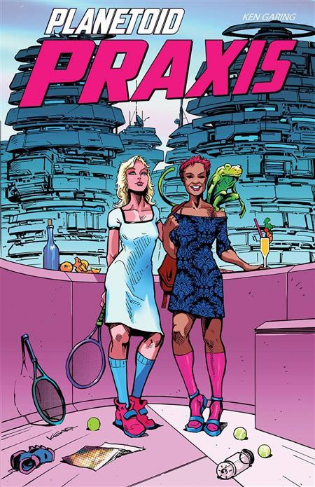 PLANETOID PRAXIS #4 (OF 6) (MR)
