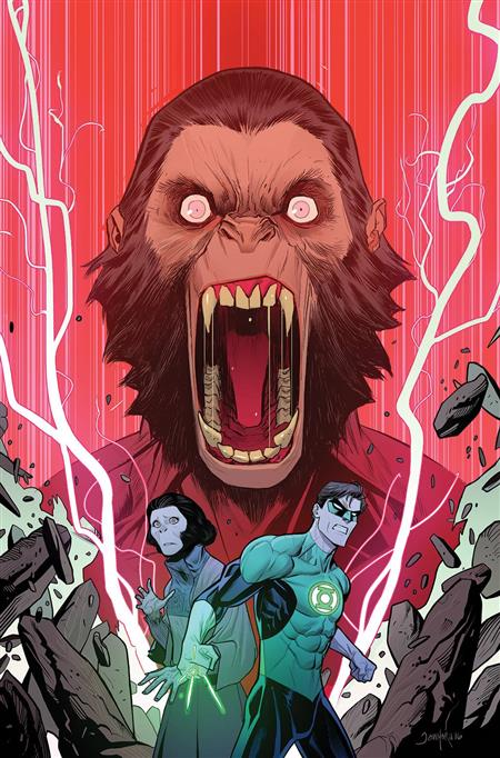 PLANET OF APES GREEN LANTERN #4 MAIN CVR