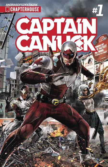CAPTAIN CANUCK 2017 ONGOING #1 CVR A GALLAGHER *Special Discount*