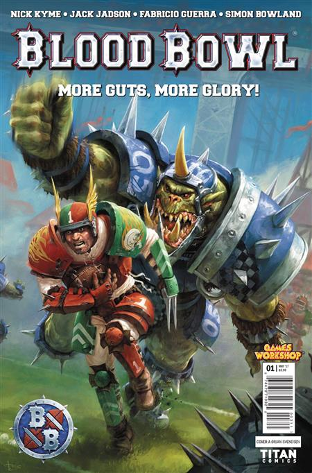BLOOD BOWL MORE GUTS MORE GLORY #1 (OF 4) CVR A SVENDSEN (MR