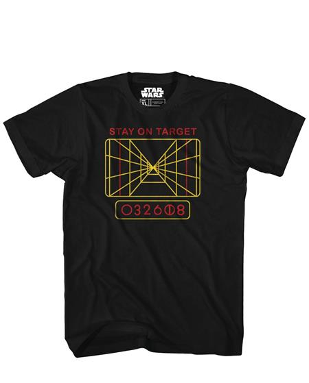 FIRE AWAY LUKE PX BLACK T/S LG (C: 1-1-1)