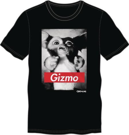 GREMLINS GIZMO BLACK T/S LG (Net) (C: 1-1-2)