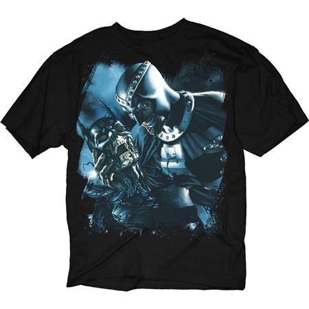 BLACKEST NIGHT BATMAN SKULL BLACK T/S LG (C: 1-1-0)