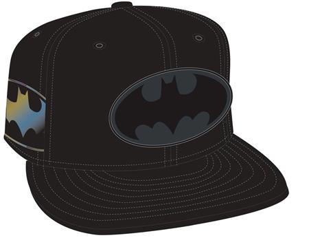 BATMAN SYMBOL SIDE FLECT SNAP BACK CAP (C: 1-1-2)