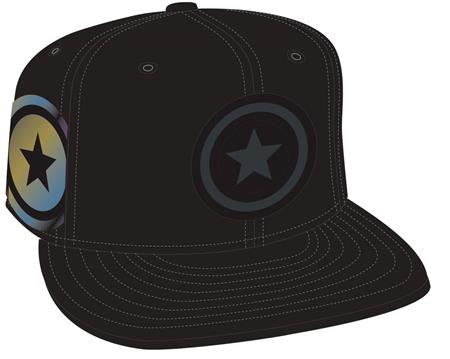 CAPTAIN AMERICA SHIELD SIDE FLECT SNAP BACK CAP (C: 1-1-2)