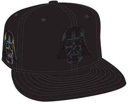 DARTH VADER HELMET SIDE FLECT SNAP BACK CAP (C: 1-1-2)