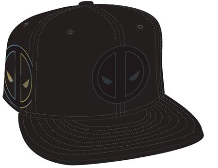 DEADPOOL SYMBOL SIDE FLECT SNAP BACK CAP (C: 1-1-2)