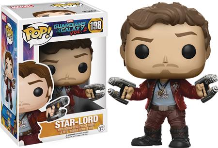 POP GUARDIANS OF THE GALAXY VOL2 STAR-LORD VINYL FIG (C: 1-1