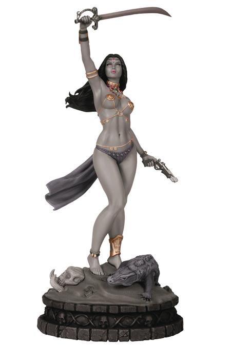 WOMEN DYNAMITE DEJAH THORIS STATUE B&W DIAMOND EYE