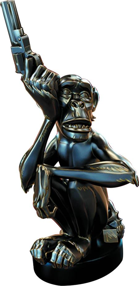 MIKE MIGNOLA MONKEY WITH A GUN BRONZE STATUE (Net) (C: 0-1-2