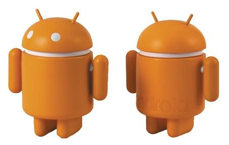 STANDARD ANDROID 3IN VINYL FIG ORANGE VER (C: 0-1-1)
