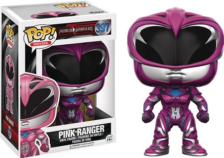 POP POWER RANGERS MOVIE PINK RANGER VINYL FIG (C: 1-1-2)