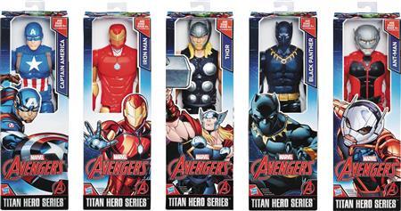 AVENGERS TITAN HERO 12IN AF ASST 201701 (Net) (C: 1-1-1)