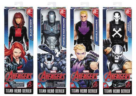 AVENGERS TITAN HERO 12IN AF ASST 201702 (Net) (C: 1-1-1)