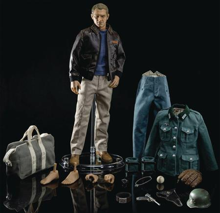 GREAT ESCAPE 1/6 STEVE MCQUEEN AF DELUXE EDITION (Net) (C: 1