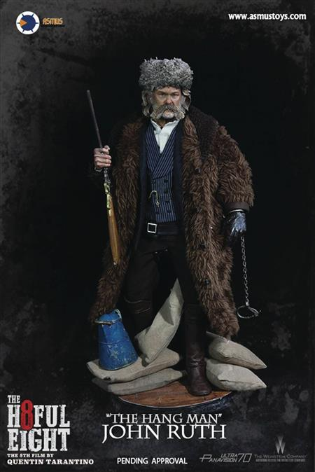 HATEFUL EIGHT THE HANG MAN JOHN RUTH 1/6 AF (Net) (C: 1-1-2)