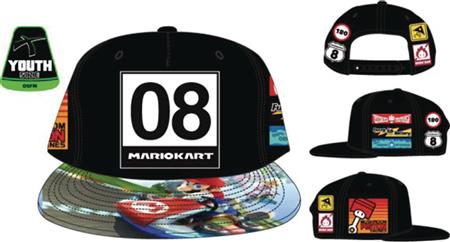 NINTENDO SUPER MARIO KART YOUTH SNAPBACK HAT (C: 1-0-2)