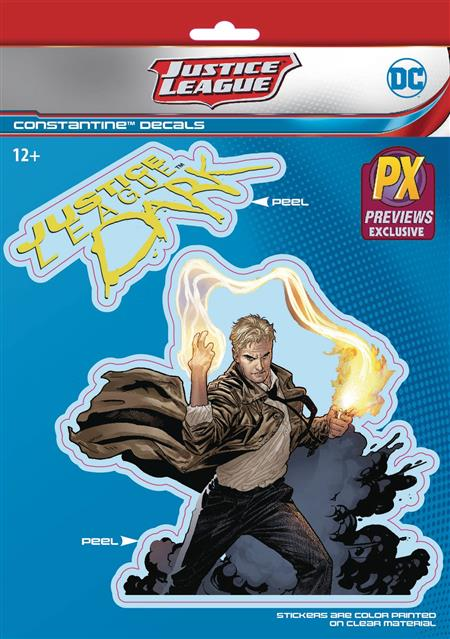 DC COMICS JUSTICE LEAGUE DARK CONSTANTINE PX VINYL DECAL (C: